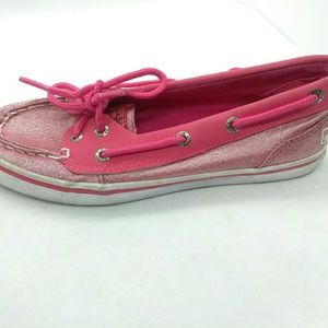Sperry Seabright Jr Boat Shoes Girls Sz 2.5 Pink